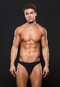 Envy Mens Lingerie - Maximum Front enhancement BLK (E-050)