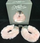 Plaisir Extreme Metal Fluffy Cuffs Pink
