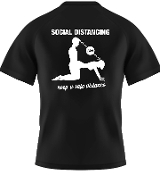 Social Distance T-shirt  Dog Style